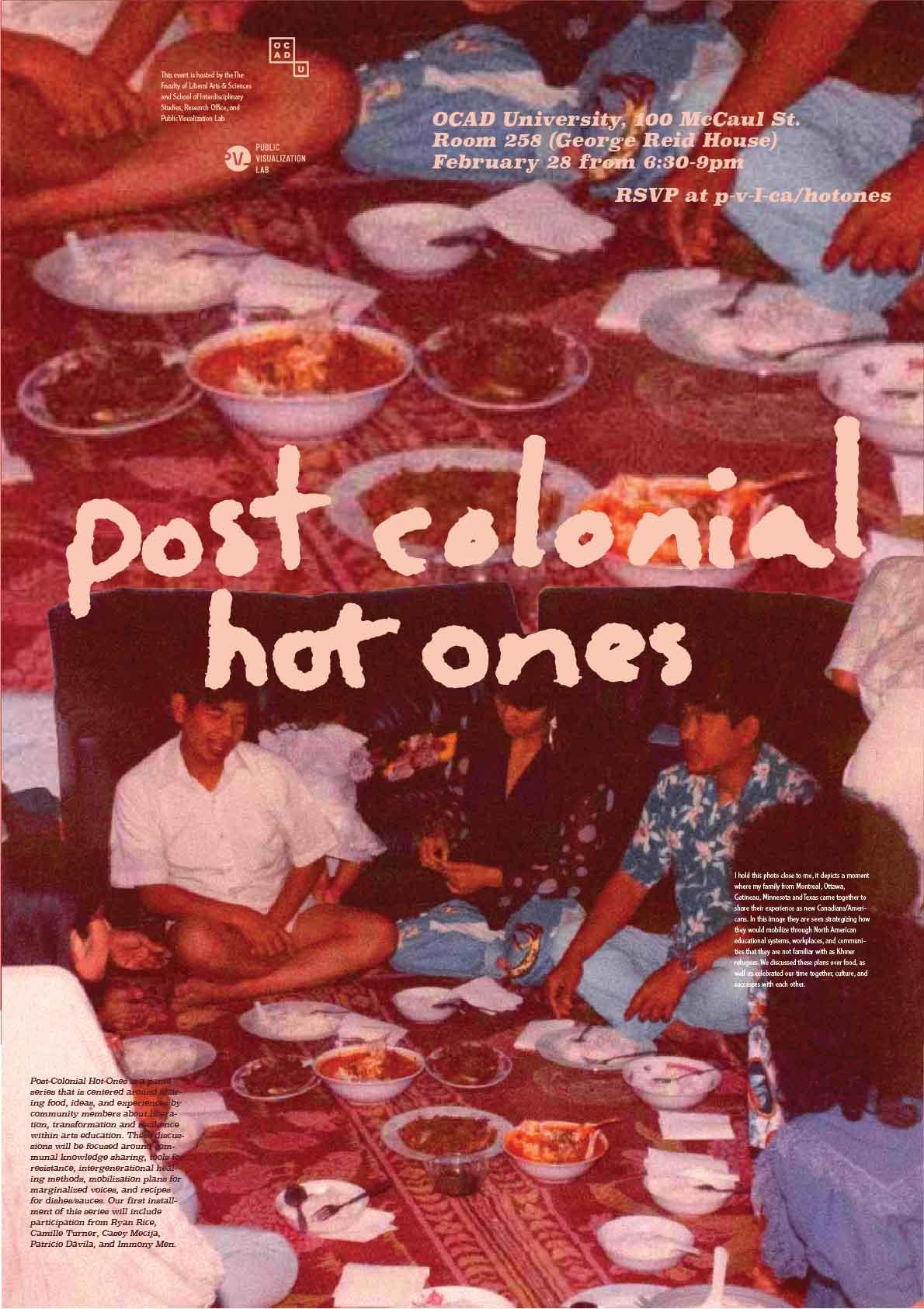 Postcolonial Hot Ones
